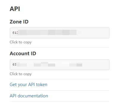 Cloudflare IDs