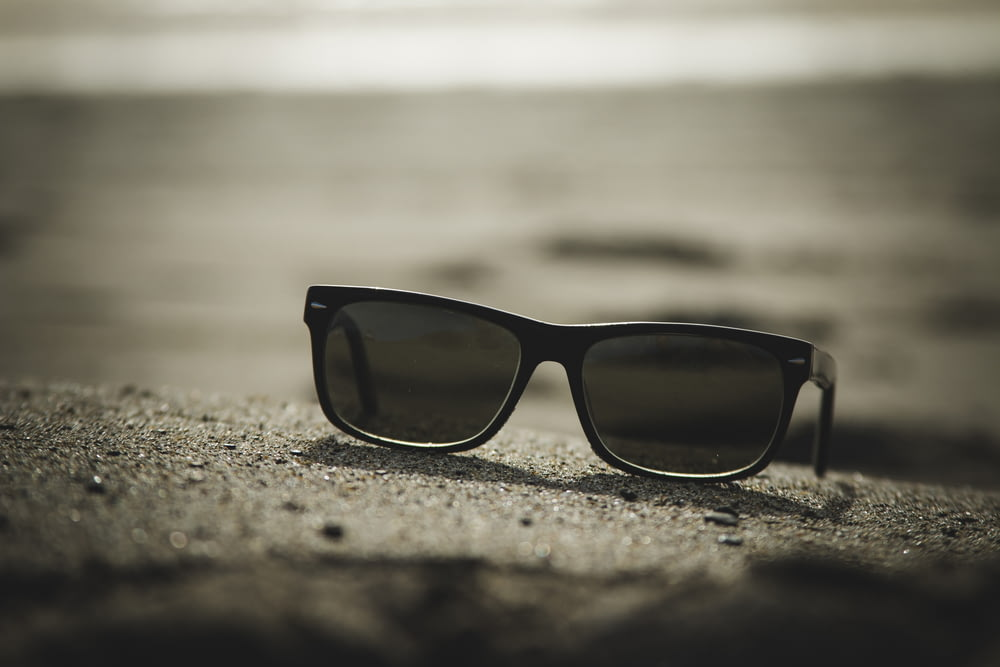 sunglasses with black frames
