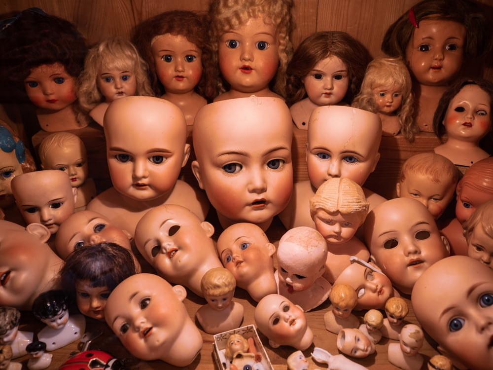 assorted doll collection