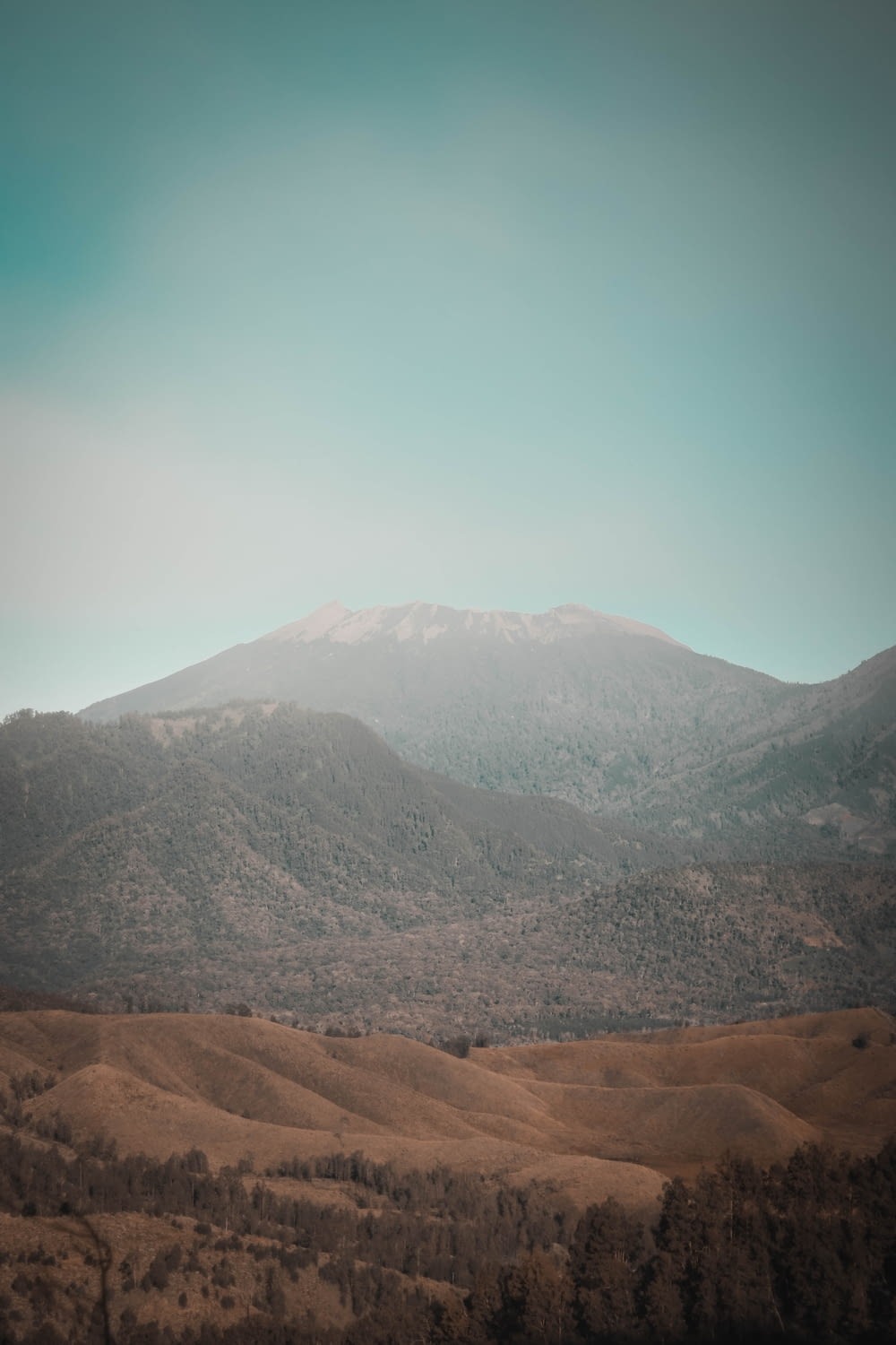 mountains during day