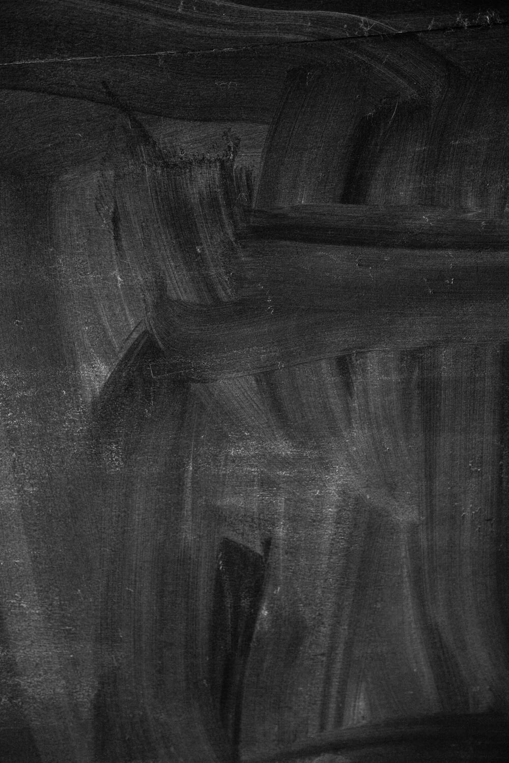 black and gray abstract painting